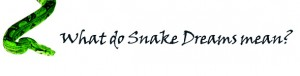 Snake dream meaning